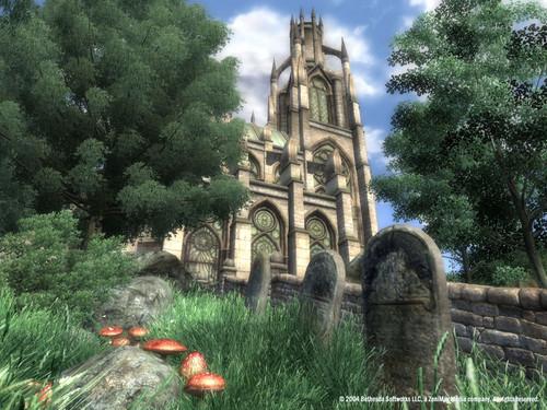 Oblivion (Elder Scrolls IV) fond d'écran called Oblivion Official Screenshot