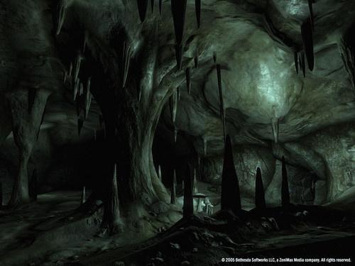 Oblivion (Elder Scrolls IV) fond d'écran entitled Oblivion Official Screenshot