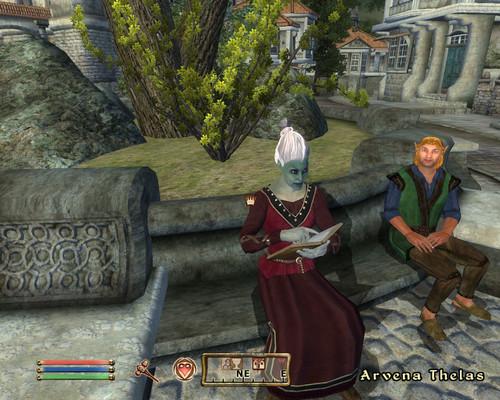 Oblivion (Elder Scrolls IV) fond d'écran entitled Oblivion Screenshot