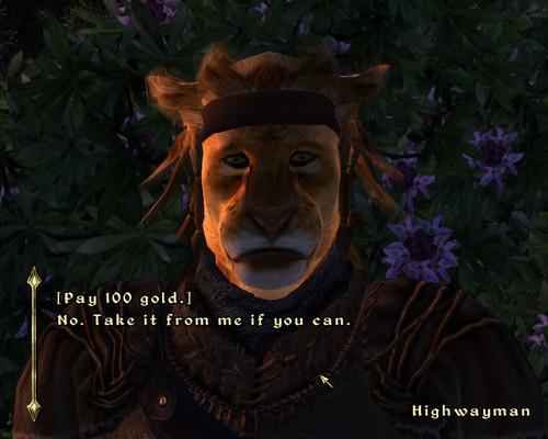 Oblivion (Elder Scrolls IV) fond d'écran titled Oblivion Screenshot