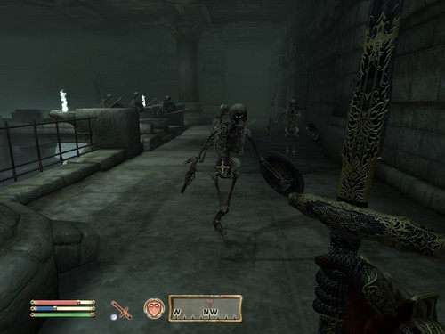 Oblivion (Elder Scrolls IV) fond d'écran called Oblivion Screenshot