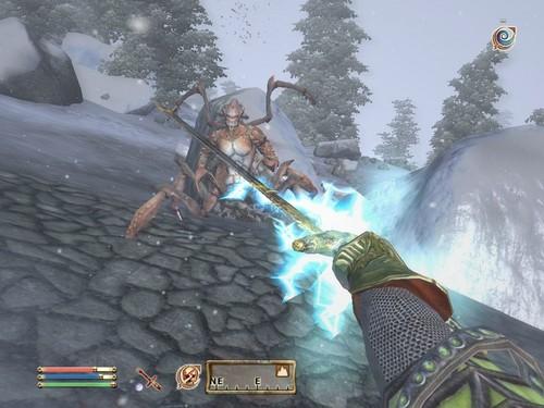 Oblivion (Elder Scrolls IV) Обои entitled Oblivion Screenshot