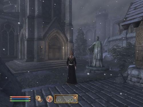 Oblivion (Elder Scrolls IV) fond d'écran called Oblivion Screenshot