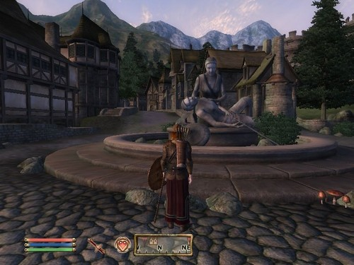 Oblivion (Elder Scrolls IV) Обои titled Oblivion Screenshot