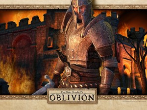 Oblivion 壁紙 - The Hero of Kvatch