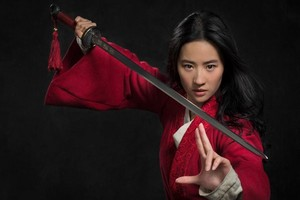 Official Picture of Liu Yifei as Mulan
