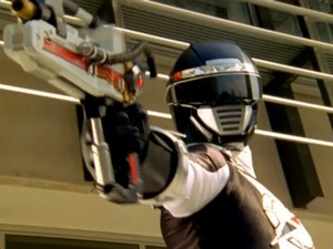 Operation Overdrive Black Ranger