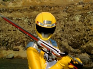 Operation Overdrive Yellow Ranger