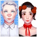 Opposites Attract: Aleksander and Hailey - young-justice-ocs photo