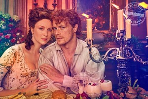 Outlander - Claire and Jamie Fraser at Entertainment Weekly Photoshoot