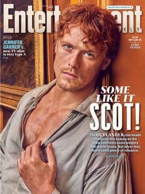 Outlander - Jamie Fraser at Entertainment Weekly Cover