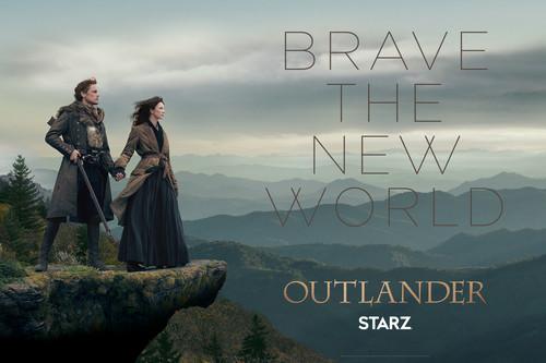 série TV Outlander 2014 fond d'écran called Outlander Season 4 Key Art