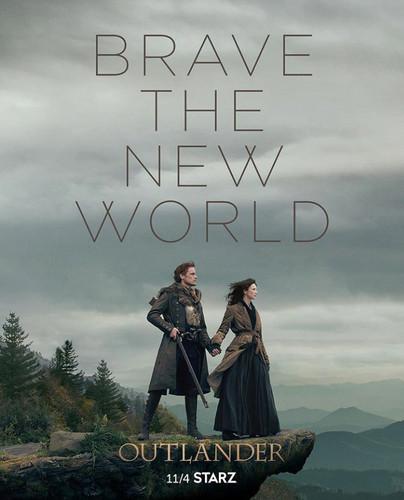 アウトランダー 2014年TVシリーズ 壁紙 called Outlander Season 4 Poster
