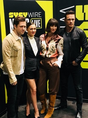 Outlander cast (2018)