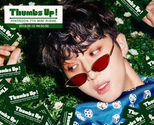 PENTAGON teaser images for 'Thumbs Up!'