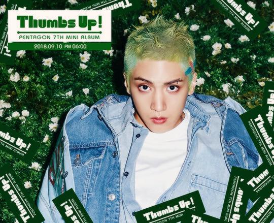 pentagon teaser afbeeldingen for 'Thumbs Up!'