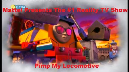 Thomas the Tank Engine wallpaper entitled Pimp My Locomotive