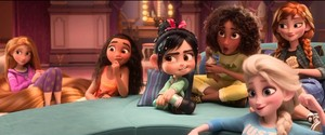 Princesses - Wreck it Ralph 2