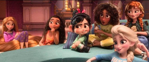princesas de disney fondo de pantalla called Princesses - Wreck it Ralph 2