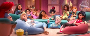 Princesses hanging out