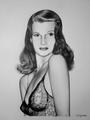 Rita Hayworth  - celebrities-who-died-young fan art