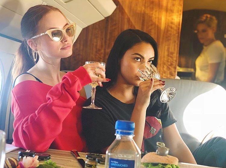 Camila and Madelaine