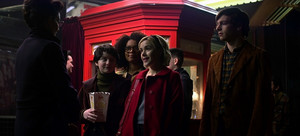 Sabrina, Rosalind, Susie and Harvey