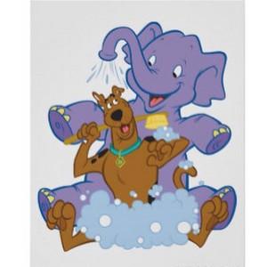 Scooby Doo Bath Time