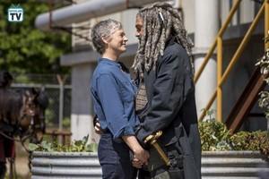 9x01 ~ A New Beginning ~ Carol and Ezekiel