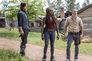 9x01 ~ A New Beginning ~ Daryl, Miconne and Rick