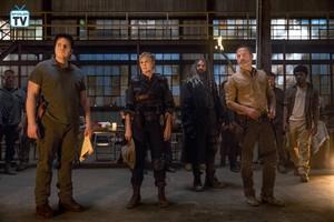 9x01 ~ A New Beginning ~ Eugene, Carol, Ezekiel and Rick