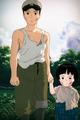 Seita and Setsuko - grave-of-the-fireflies photo