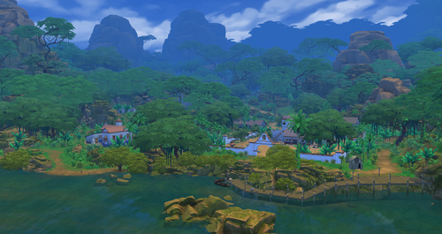 Sims 4 Обои entitled Selvadorada