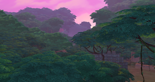 Sims 4 Обои called Selvadorada