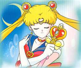 Serena as Sailor Moon