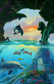 Seven Dolphins - sea-life fan art