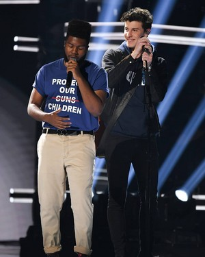 Shawn Mendes and Kalid