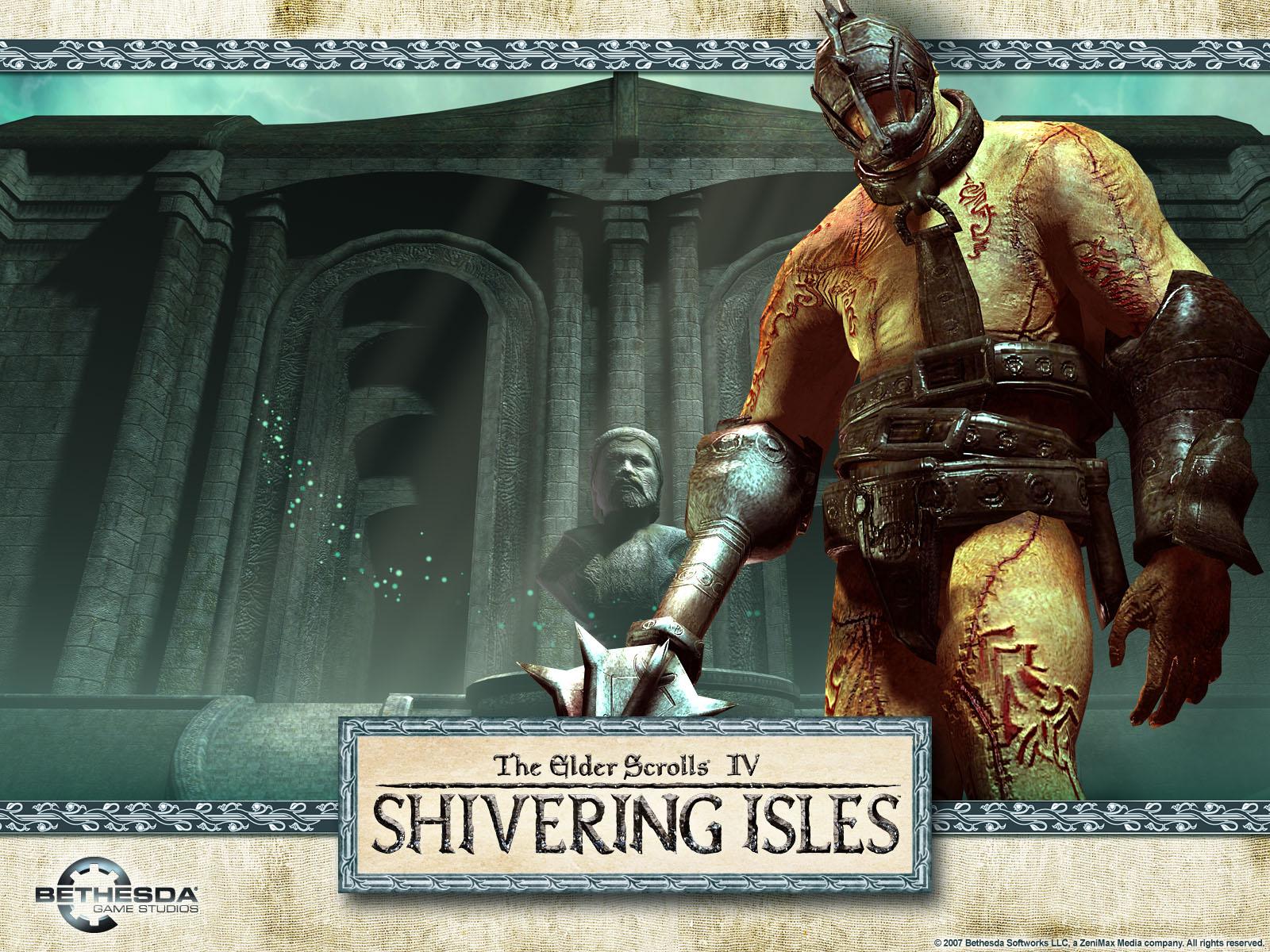 Shivering Isles Wallpaper - The Gatekeeper