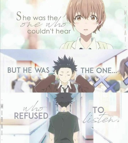 Koe no Katachi wolpeyper called A silent voice
