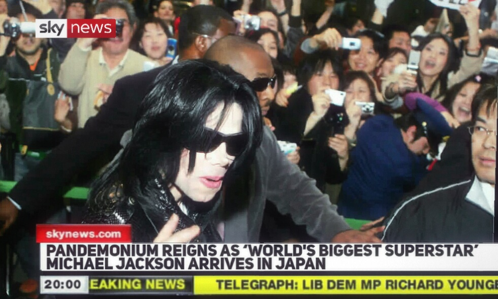 Sky News Calls MICHAEL JACKSON, the World's Biggest Superstar