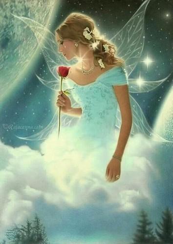 Fairies wallpaper titled Sky fairy