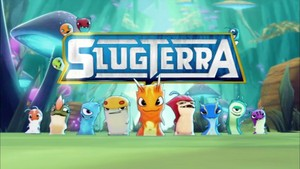Slugterra Logo And Slugs