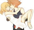 Sora and Namine kingdom hearts 32342470 500 433 - kingdom-hearts photo