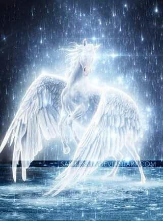 Sparkling unicorn