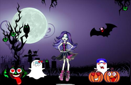 Monster High achtergrond entitled Spectra Vondergeist