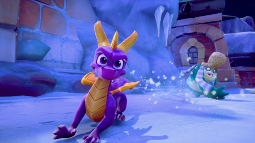 Spyro The Dragon kertas dinding titled Spyro: Reignited Trilogy