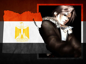 Squall Leonhart GET OUT FROM EGYPT