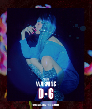 Sunmi gets spooky in 'Warning' image teaser