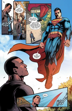 superman and Jefferson Pierce