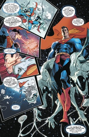 superman vs Coronovores